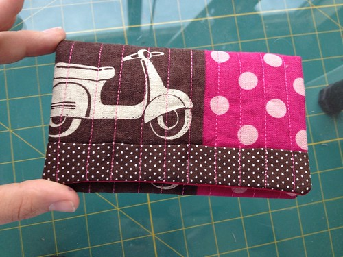 Snap Pouch Tutorial Outside Fold