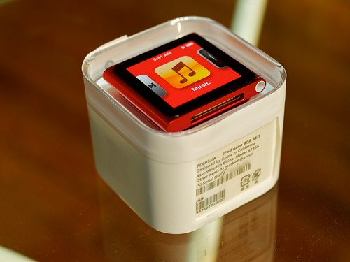 iPod nano 8GB (PRODUCT) RED