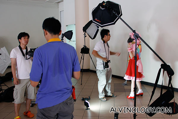 Cosplay photography is serious business
