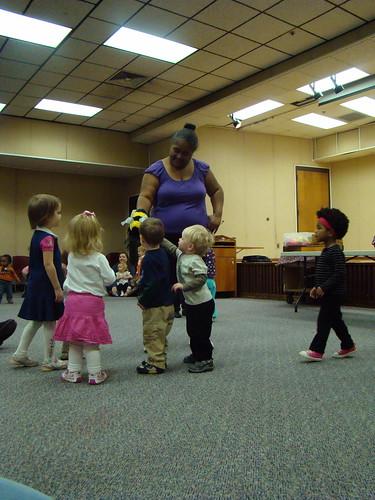 Toddler Mob Scene
