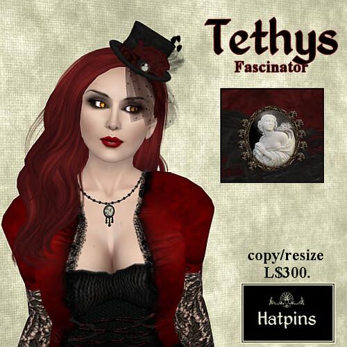 Tethys Fascinator Advert