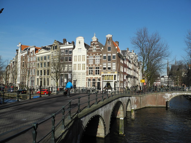 One of the most famous corners of Amsterdam