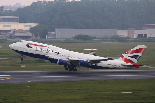 British Airways | Boeing 747-400 @ SBGR