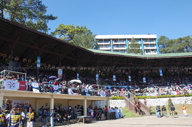 Baguio Athletic Bowl crowd