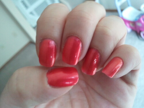 "Orange ""Crush(ed)"" - Sally Hansen"