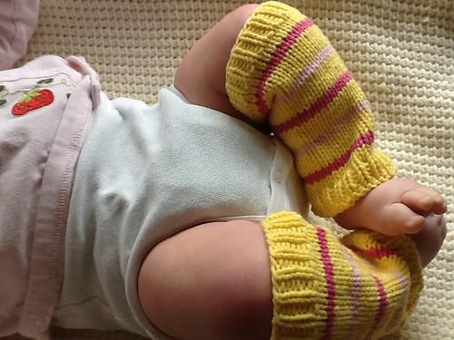 Stella baby leg warmers