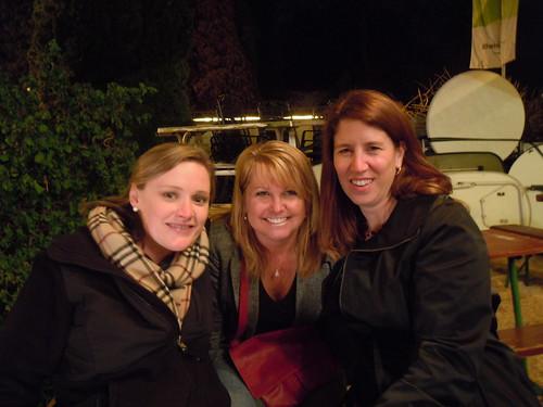Sarah, Barbara & me