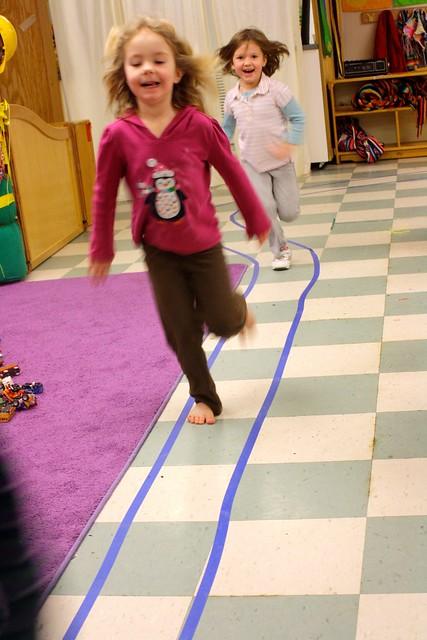 preschool track