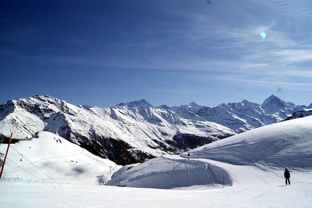work as a ski instructor