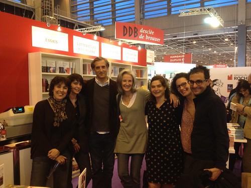 Salon du livre 2012 à Paris avec Tatiana de Rosnay, Heloïse d'Ormesson, Nicolas Jolly et Isabelle Alonso by Arash Derambarsh