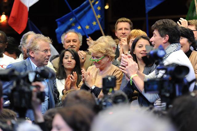 Eva Joly : dernier meeting de campagne