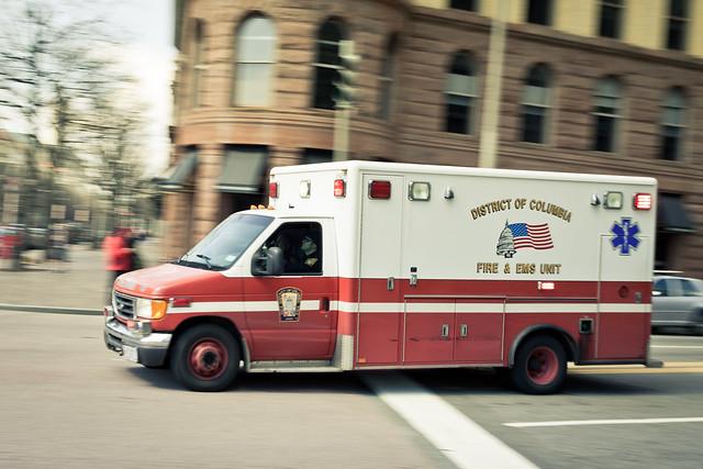 DC Fire & EMS Ambulance