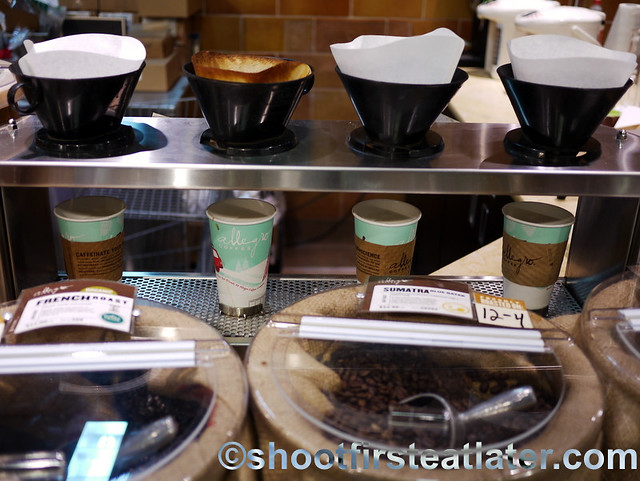 Allegro Coffee pour over coffee