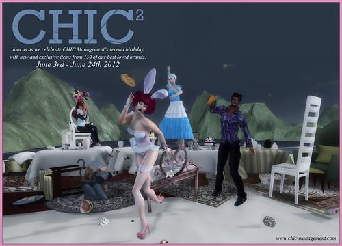 CHIC2 Birthday Event Poster