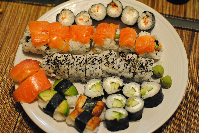 [52/366] Sushi Plate