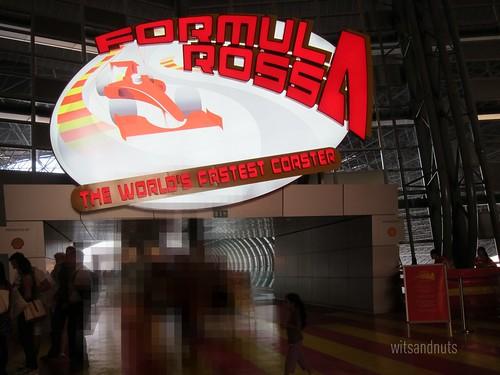 Formula Rossa, the world's fastest coaster