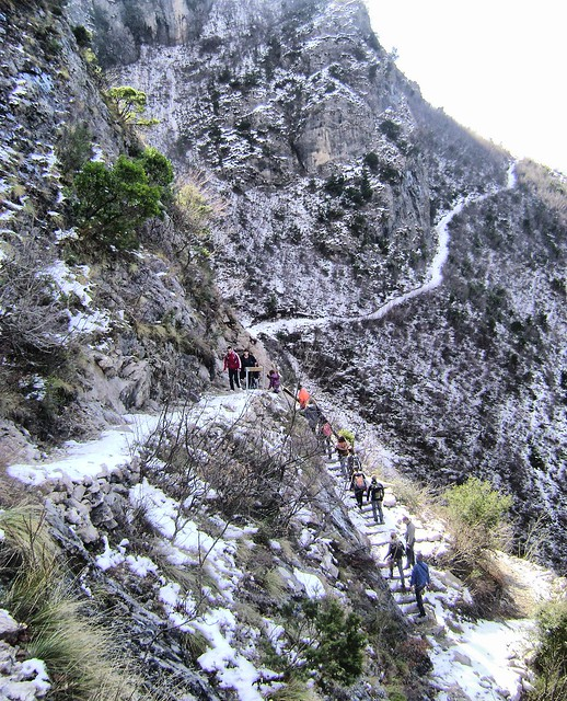 The trail to the Cave