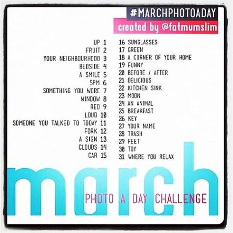 The #instagram #marchphotoaday! #woot!