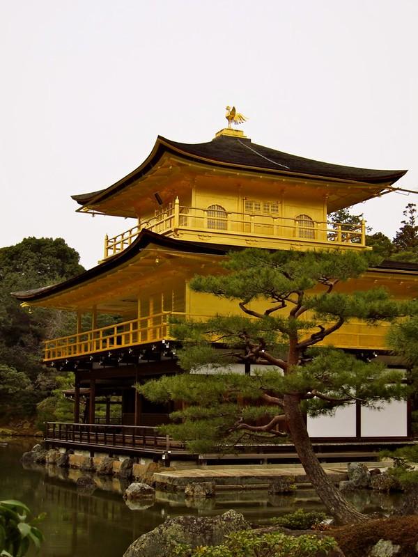 Kinkaku-ji, Kyoto's famed