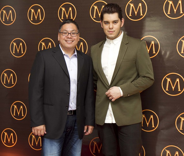 Selecta Marketing Director Bindoy Baltazar with Magnum Launch Creative Consultant Raymond Gutierrez