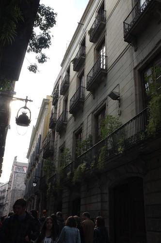 around Barri Gotic