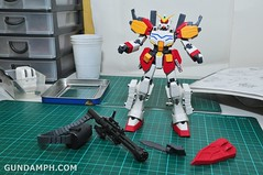 MG 1-100 Gundam HeavyArms EW Unboxing OOTB Review (65)