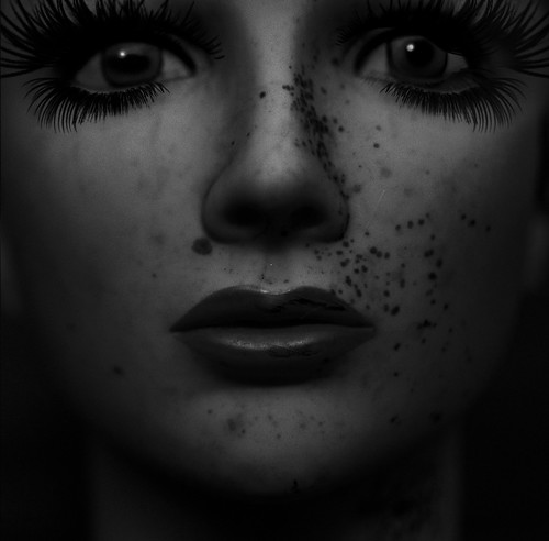 A dolls face by annenesteby