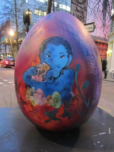 165 - Baby Ganesha's Nest by Mythili