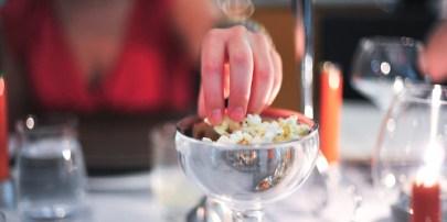 Canapés: Popcorn!