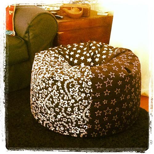 Bean Bag for the boys by LisaCreated