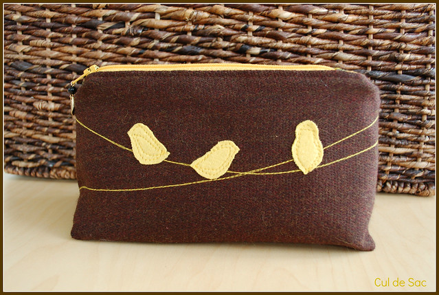 Eco-friendly pencil or cosmetic case