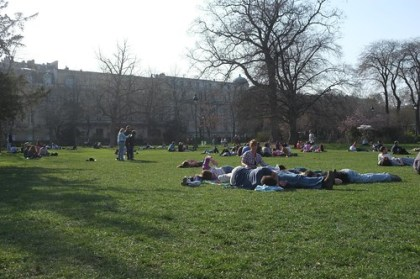 picnic at Champ de Mars