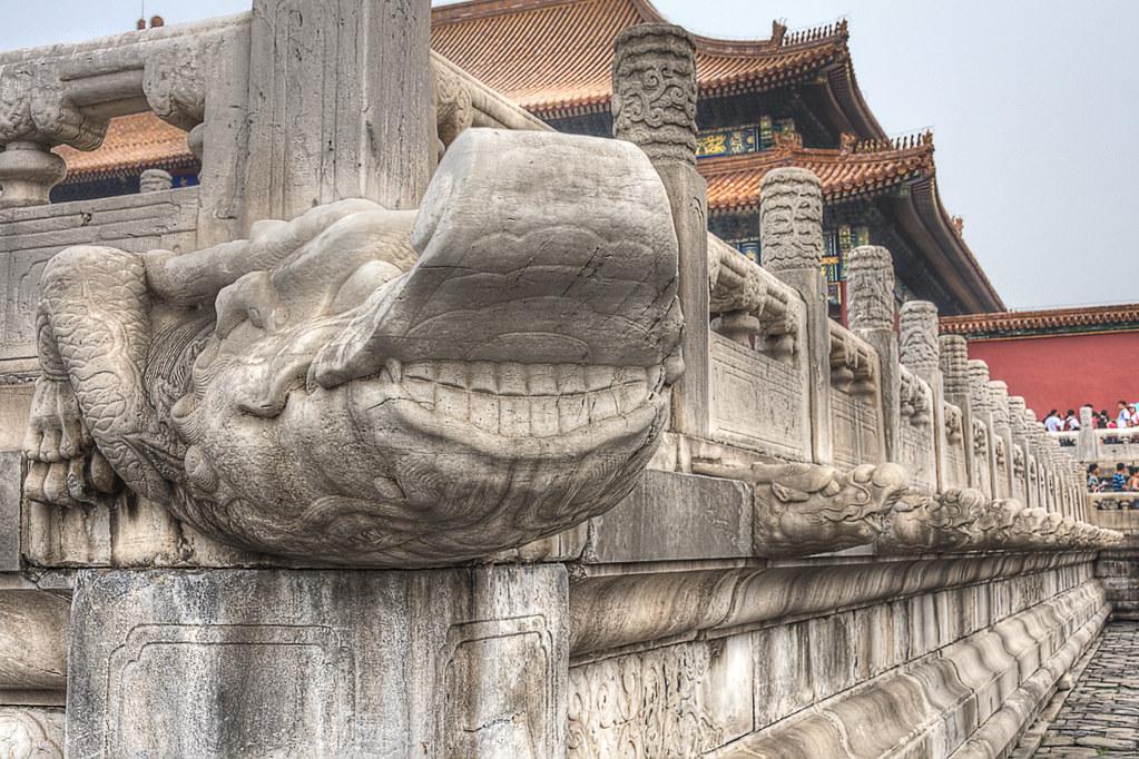 Gargoyles in the Forbidden City