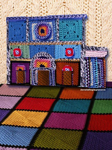 Virtual Urban Knitting: basilica di Santa Maria di Collemaggio by D. Giagnacovo