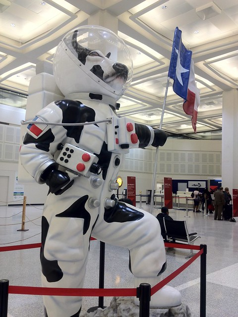 George Bush Airport Sculpture