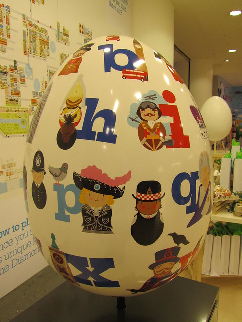 80 - The Alpha Egg of London by Joanne Holbrook