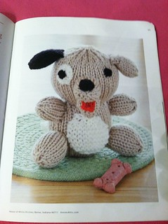 Amigurumi Animal Friends Knit Dog