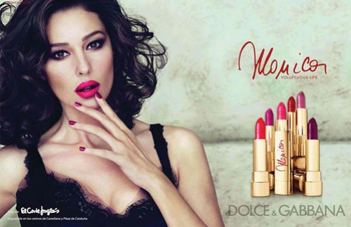 Dolce-Gabbana-Monica-Lipstick-Collection-Summer-2012-Ad-Campaign
