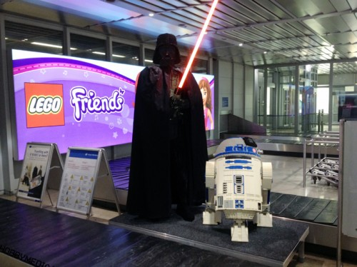 Star Wars Friends @ the Nuremberg Airport (Toy Fair 2012)