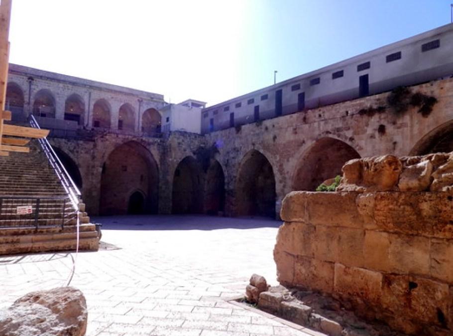 fortaleza de los cruzados en San Juan de Acre Israel 04