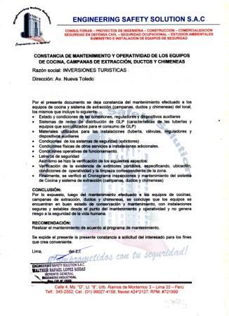 Requisitos Para Certificado De Defensa Civil De Detalle