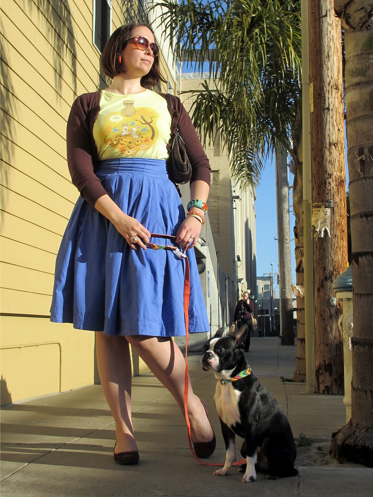 Dressed for California spring! Photo by Santina of Style by Santina.
