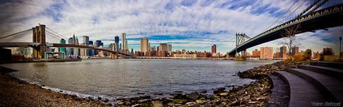 New York City, panorama of Manhattan NYC, United states by Zeeyolq Photography