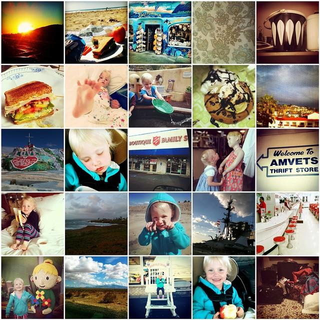 CA Instagrams Mosaic