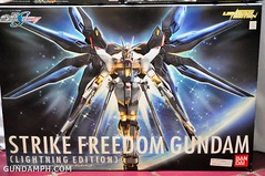 new haul april 21 2012 160 scale strike freedom gundam lighting edition