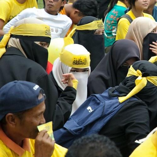 Bersih 3.0 Kota Kinabalu The young generation.