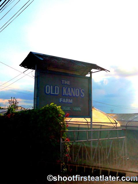 The Old Kano's farm