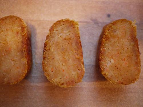 Kishke - Sliced for second baking
