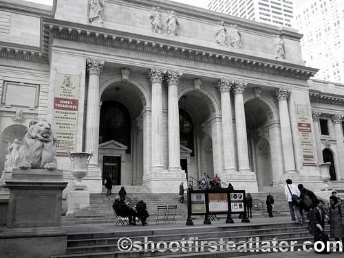 New York Public Library, 5th Avenue New York City