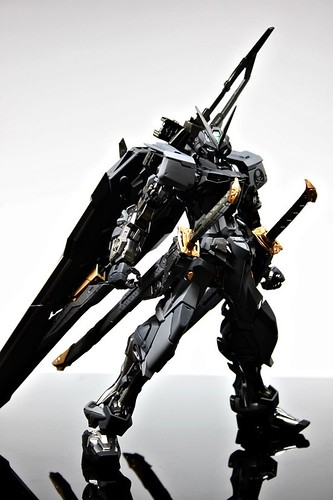 Stealth Version Gundam Astray Custom Painted Build (2)